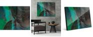"Creative Gallery Turquoise Tinted Buddha Abstract 24"" x 36"" Acrylic Wall Art Print"