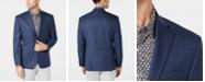 Michael Kors Men's Classic-Fit Blue/Navy Check Sport Coat