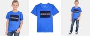 Calvin Klein Big Boys Logo-Print Cotton T-Shirt