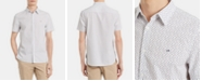 Calvin Klein Men's Classic-Fit Dot-Print Shirt