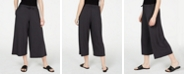 Eileen Fisher Wide Cropped Tencel ™ Pants, Regular & Petite, Created for Macy's