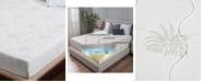 "Om Aloe 8"" Medium Firm Mattress - Twin XL, Quick Ship, Mattress in a Box"