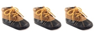 Baby Vision Luvable Friends Duck Boots, Tan, 0-18 Months