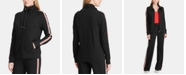 Lauren Ralph Lauren Petite Cotton Active Zip Front Jacket
