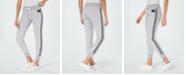 Calvin Klein Logo-Print Varsity-Stripe Joggers