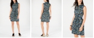 Tommy Hilfiger Cotton Floral-Print Belted Shirtdress, Created for Macy's