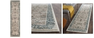 "Safavieh Serenity Beige and Blue 2'3"" x 8' Runner Area Rug"