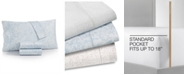 Charter Club Sleep Luxe Cotton 800-Thread Count 4-Pc. Printed Queen Sheet Set, Created for Macy's