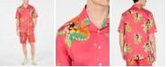 Club Room Men's Tropical Print Shirt, Created for Macy's