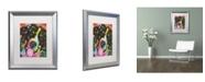 """Trademark Global Dean Russo 'Saint' Matted Framed Art - 20"""" x 16"""" x 0.5"""""""
