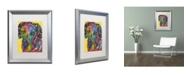 """Trademark Global Dean Russo 'The Beggar' Matted Framed Art - 20"""" x 16"""" x 0.5"""""""