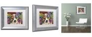 """Trademark Global Dean Russo 'Whazzat' Matted Framed Art - 14"""" x 11"""" x 0.5"""""""