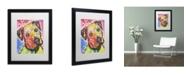 """Trademark Global Dean Russo 'Innocent' Matted Framed Art - 16"""" x 20"""" x 0.5"""""""