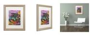 """Trademark Global Dean Russo '13' Matted Framed Art - 20"""" x 16"""" x 0.5"""""""