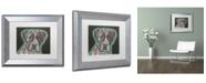 "Trademark Global Dean Russo 'Love Thy Boxer' Matted Framed Art - 14"" x 11"" x 0.5"""