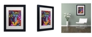 "Trademark Global Dean Russo 'Young Lion' Matted Framed Art - 11"" x 14"" x 0.5"""