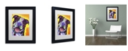 "Trademark Global Dean Russo 'Daisy Pit' Matted Framed Art - 11"" x 14"" x 0.5"""