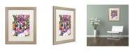 "Trademark Global Dean Russo 'Lying Dane' Matted Framed Art - 20"" x 16"" x 0.5"""