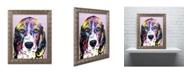 "Trademark Global Dean Russo '4 Beagle' Ornate Framed Art - 20"" x 16"" x 0.5"""