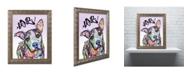 """Trademark Global Dean Russo 'Love!' Ornate Framed Art - 20"""" x 16"""" x 0.5"""""""