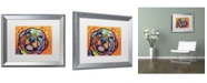 "Trademark Global Dean Russo 'Galle' Matted Framed Art - 20"" x 16"" x 0.5"""