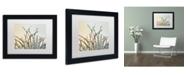 """Trademark Global Cora Niele 'Dewy Grass' Matted Framed Art - 11"""" x 14"""" x 0.5"""""""