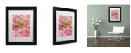 "Trademark Global Cora Niele 'Cerise Pink Poppy' Matted Framed Art - 11"" x 14"" x 0.5"""