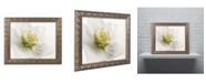 "Trademark Global Cora Niele 'White Helleborus' Ornate Framed Art - 14"" x 11"" x 0.5"""