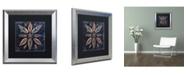 "Trademark Global Color Bakery 'Maritime Blues VII' Matted Framed Art - 16"" x 0.5"" x 16"""
