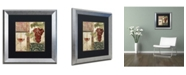 "Trademark Global Color Bakery 'Sofia I' Matted Framed Art - 16"" x 0.5"" x 16"""