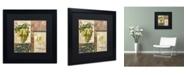 "Trademark Global Color Bakery 'Sofia II' Matted Framed Art - 16"" x 16"" x 0.5"""