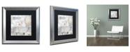 "Trademark Global Color Bakery 'Beach House I' Matted Framed Art - 16"" x 0.5"" x 16"""