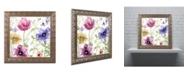 """Trademark Global Color Bakery 'Summer Diary I' Ornate Framed Art - 16"""" x 0.5"""" x 16"""""""