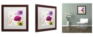 "Trademark Global Color Bakery 'Love Notes I' Matted Framed Art - 16"" x 0.5"" x 16"""