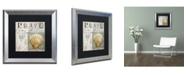 "Trademark Global Color Bakery 'Beach Book I' Matted Framed Art - 16"" x 0.5"" x 16"""