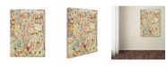 "Trademark Global Colin Johnson 'Effloresce' Canvas Art - 24"" x 18"" x 2"""