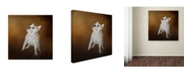 "Trademark Global Jai Johnson 'Little Beggar French Bulldog' Canvas Art - 18"" x 18"" x 2"""