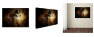 "Trademark Global Jai Johnson 'Sitting In Autumn' Canvas Art - 19"" x 14"" x 2"""