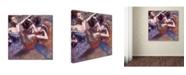 "Trademark Global Degas 'Dancers' Canvas Art - 24"" x 24"" x 2"""