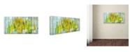 "Trademark Global Cora Niele 'Alsace Wine' Canvas Art - 32"" x 16"" x 2"""