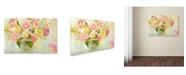 "Trademark Global Cora Niele 'Easter Bouquet' Canvas Art - 24"" x 16"" x 2"""