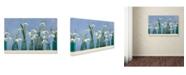 "Trademark Global Cora Niele 'Snoflakes In Little Bottles' Canvas Art - 24"" x 16"" x 2"""