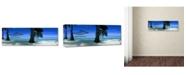 "Trademark Global Doug Cavanah 'No Worries' Canvas Art - 19"" x 6"" x 2"""