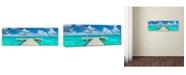 "Trademark Global Doug Cavanah 'In No Hurry' Canvas Art - 19"" x 6"" x 2"""