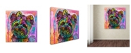 "Trademark Global Dean Russo 'Chloe Bear' Canvas Art - 24"" x 24"" x 2"""
