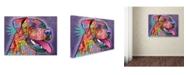 "Trademark Global Dean Russo 'Happy Lab' Canvas Art - 32"" x 24"" x 2"""