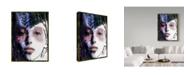 "Trademark Global Dana Brett Munach 'Flora' Canvas Art - 47"" x 35"" x 2"""