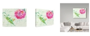 "Trademark Global Irina Trzaskos Studio 'Tropical Garden II' Canvas Art - 47"" x 35"" x 2"""