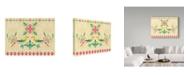 "Trademark Global Irina Trzaskos Studio 'Colorful Birds I' Canvas Art - 47"" x 35"" x 2"""