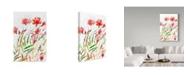 """Trademark Global Irina Trzaskos Studio 'Meadow III' Canvas Art - 19"""" x 12"""" x 2"""""""